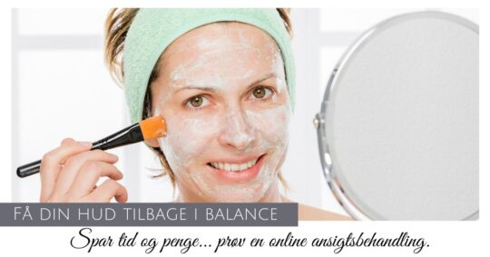 Online ansigtsbehandling