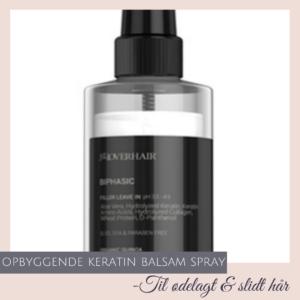 Spray balsam til tørt hår